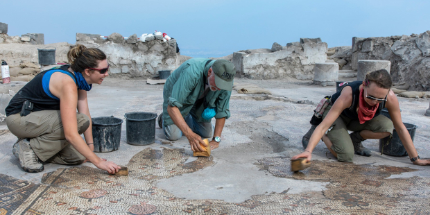 Newly unearthed mosaic could hold clues to location of Jesus' miracle of the loaves and fishes