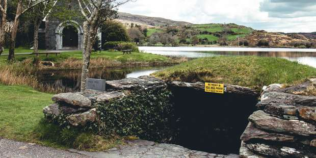 """This miraculous well is the site of a mini """"camino"""" in Ireland"""
