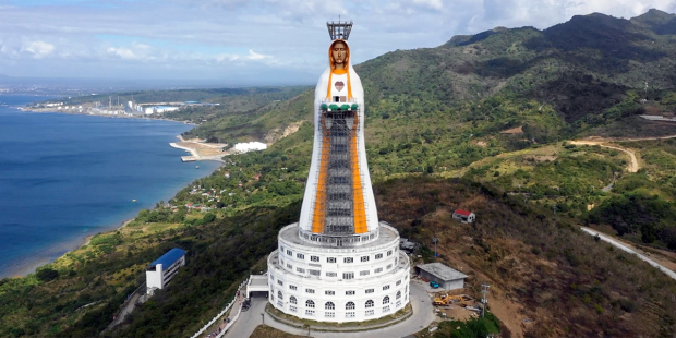 In the Philippines, the soon-to-be tallest statue of the Virgin Mary in the world is about to be ready