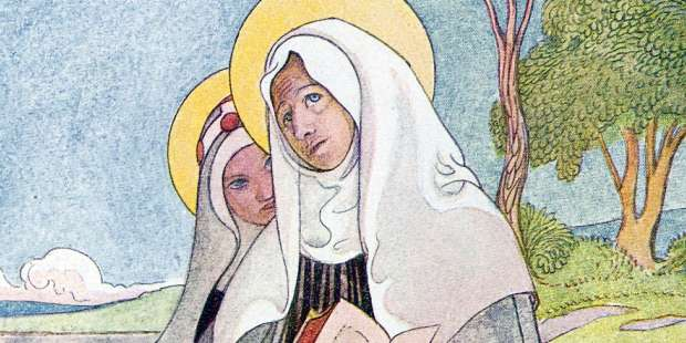 Call on these two saints to improve the mother-daughter relationship