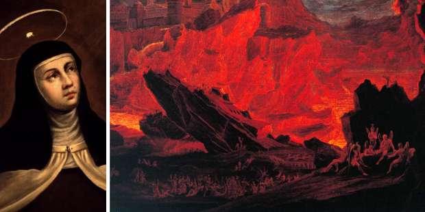 St. Teresa of Avila's haunting vision of Hell