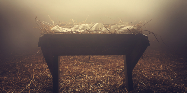 The Eucharistic symbolism of the manger