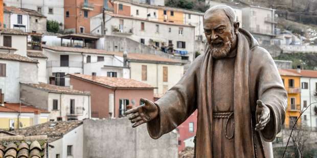 When we're depressed or feeling blue, this prayer from Padre Pio is a way to reach out