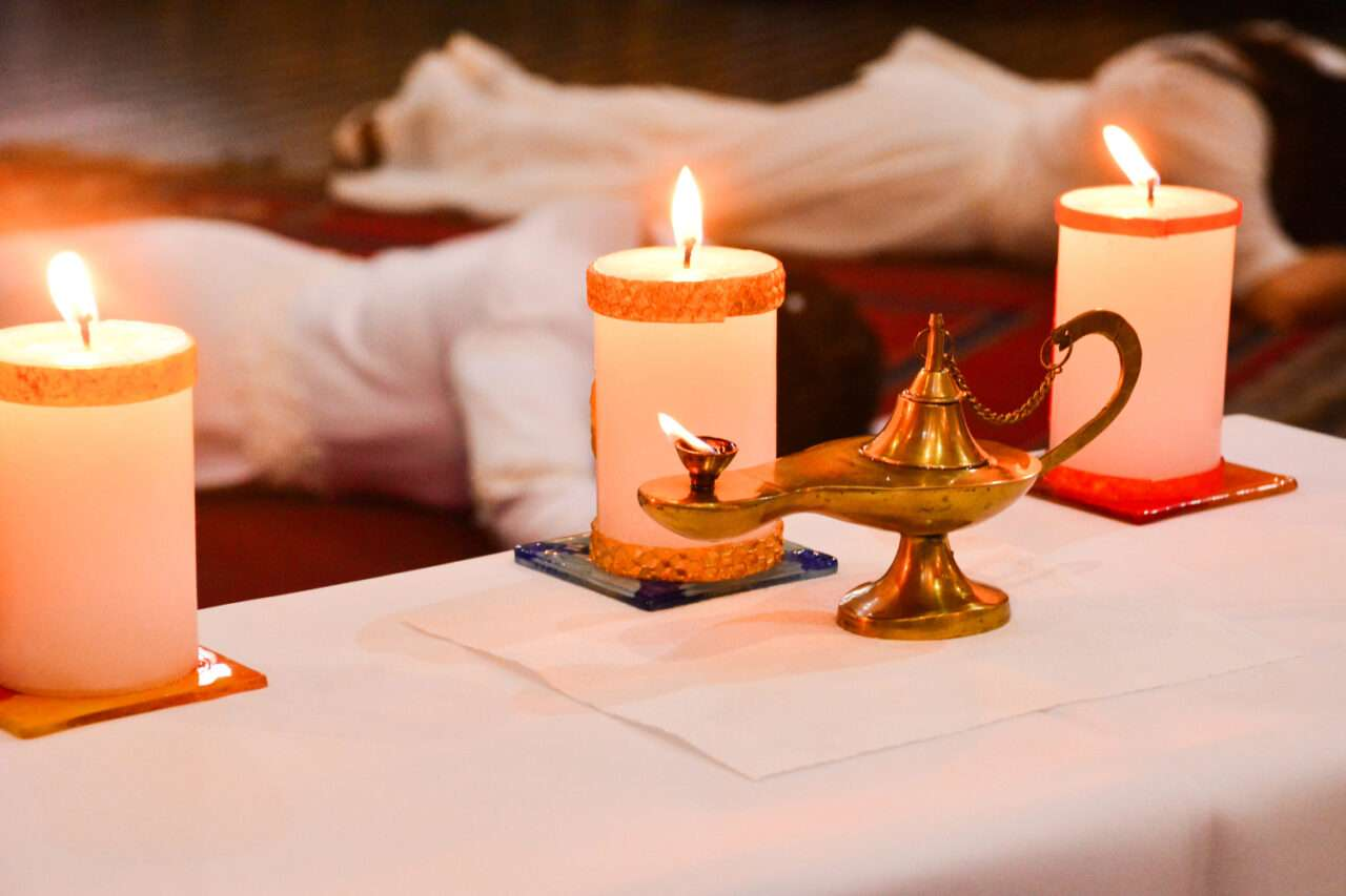 Candle lighting as a Form of Prayer