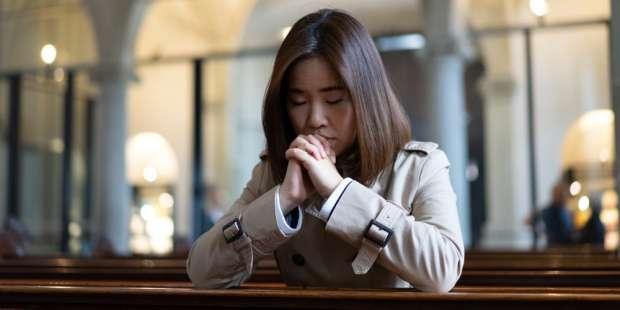 Prayer after communion when feeling depressed