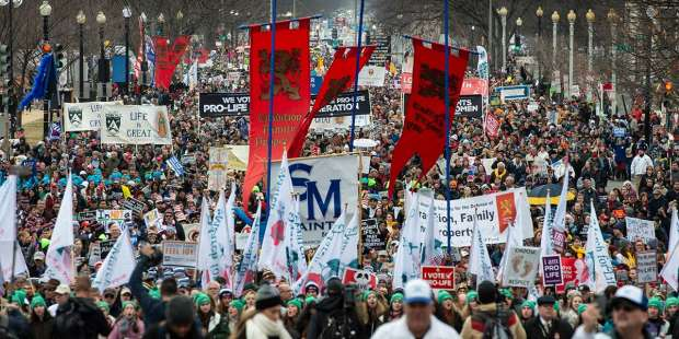 Exclusive photos: The March for Life takes Washington DC by storm