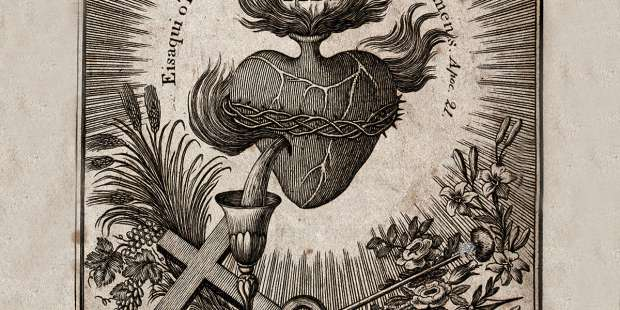 The chalice, the Sacred Heart and their powerful connection