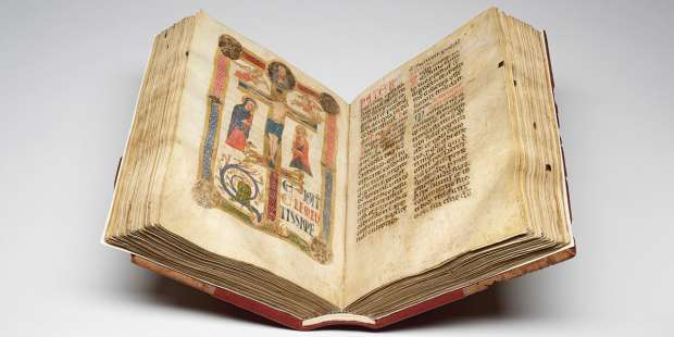A prayer book used by St. Francis of Assisi goes on display in Baltimore
