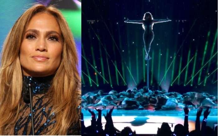 Jennifer Lopez Blasphemously Mimics Jesus on Stripper Pole at Super Bowl Halftime Show