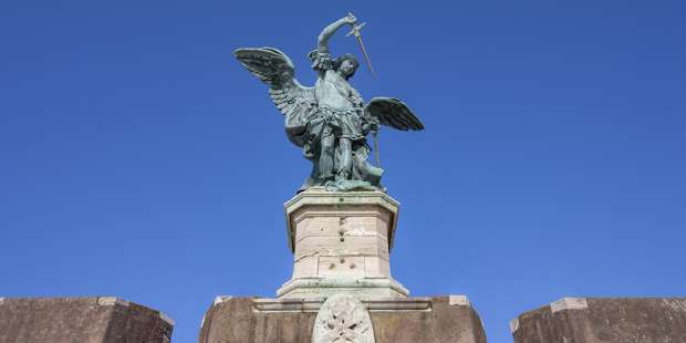 During a deadly plague, Pope Gregory had this consoling vision of St. Michael the Archangel