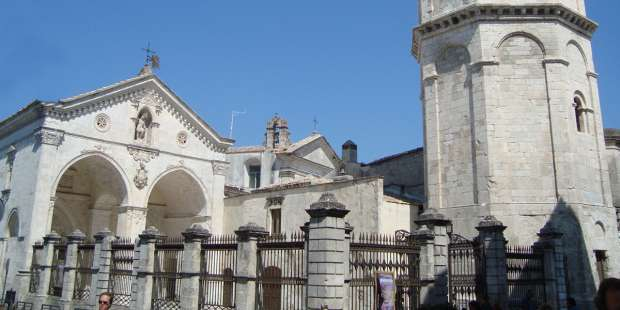 This church is said to be consecrated by St. Michael the Archangel