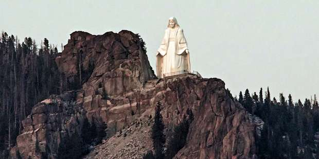 """Our Lady of the Rockies"" is the fourth largest statue in the U.S."
