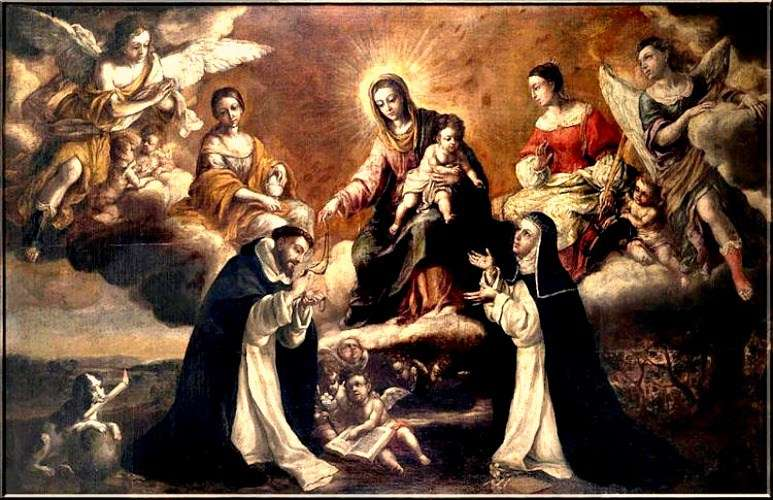 Did St. Dominic invent the Rosary?