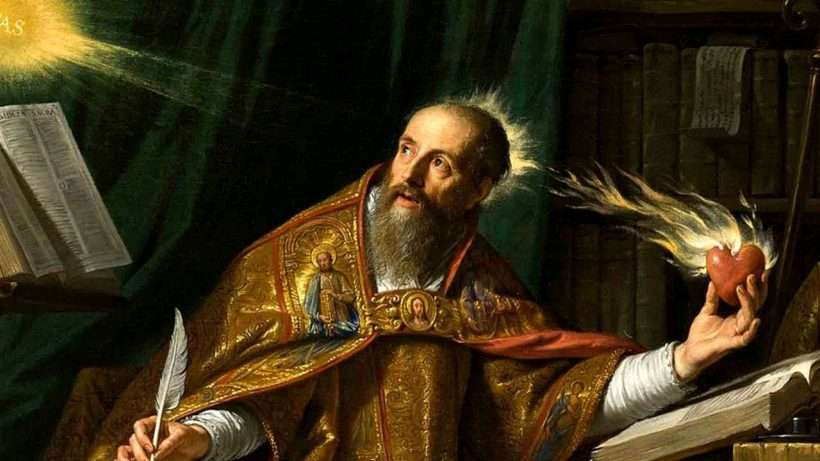 AND TODAY WE CELEBRATE… Saint of the Day: St. Augustine of Hippo (FRIDAY, AUGUST 28)