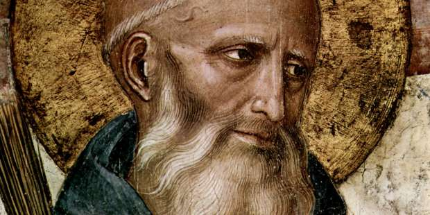 St. Benedict showed what to do in a pandemic