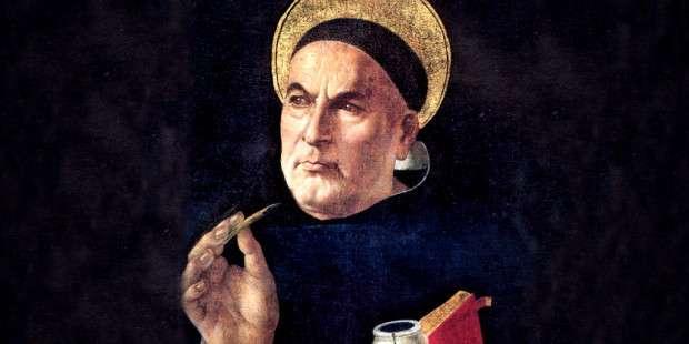 Prayer to St. Thomas Aquinas before using the internet
