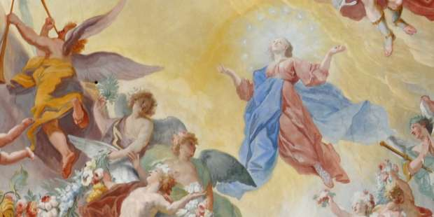 Prayer for a peaceful death in light of Mary's Assumption