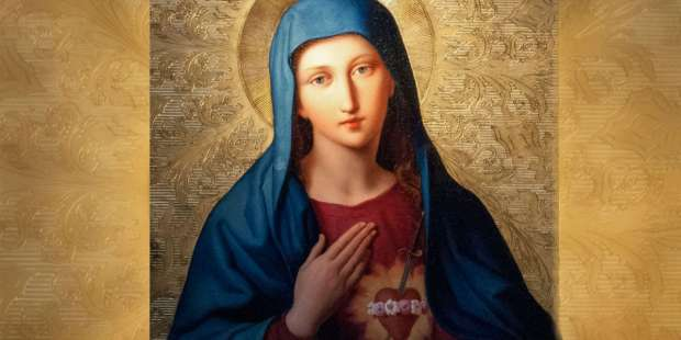 """Mary is the true """"Queen of Hearts"""" who brings peace to the world"""