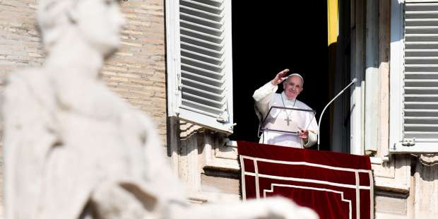 Even greater than the 'giant leap for mankind': Pope reflects on Mary's entrance to Heaven