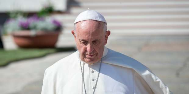 Pope Francis telephones a woman grieving her son