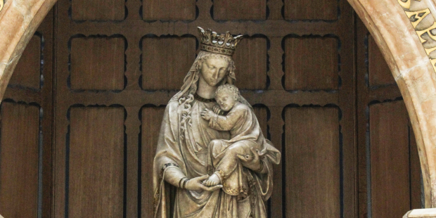 Prayer for students to Mary, Seat of Wisdom