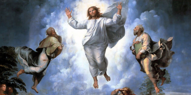 Why was Jesus transfigured?