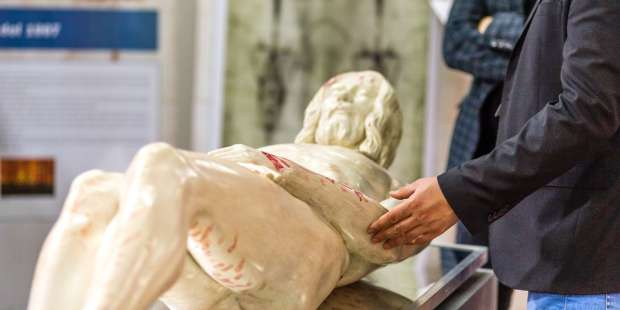 3D model of Christ based on Shroud of Turin on display in Venice