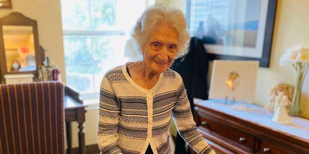 Great advice from 107-year-old who survived the Spanish flu and COVID-19