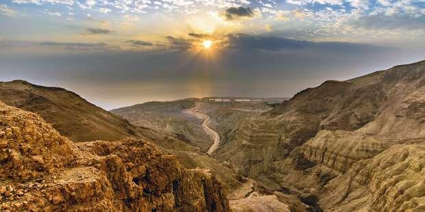 The Judean wilderness: Photos of the desert where Jesus resisted Satan