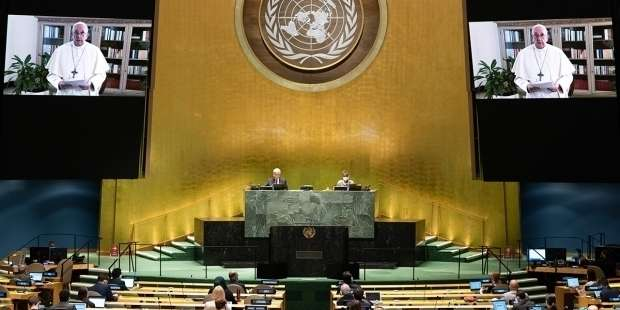 Full text: Pope's address to the UN