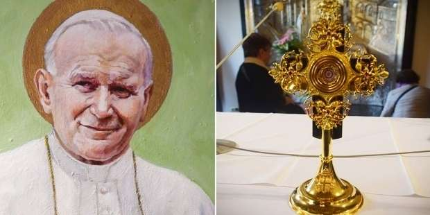Pope John Paul II's relics stolen from Italian cathedral