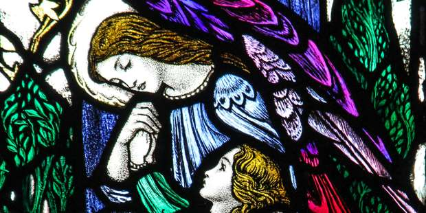What the angels can teach us about anxiety
