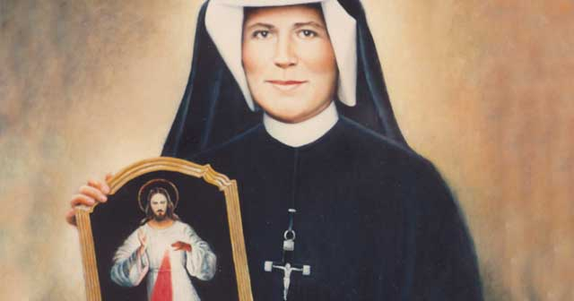 Saint Maria Faustina Kowalska…  Saint of the Day for October 5