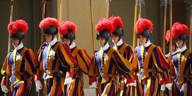 Six members of the pope's Swiss Guard test positive for COVID-19