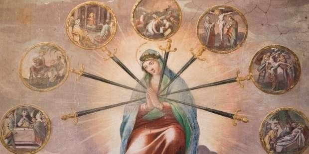 A heartfelt plea to Our Lady of Sorrows written by St. Bonaventure
