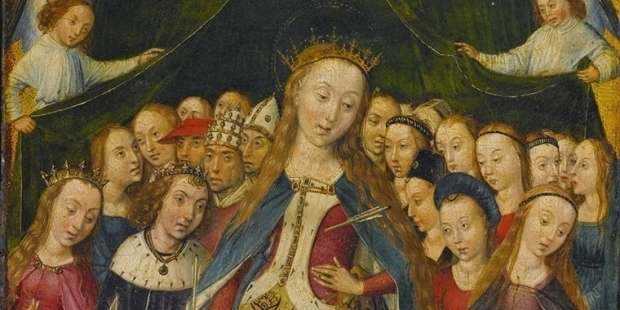 AND TODAY WE CELEBRATE…SAINT OF THE DAY: St. URSULA AND COMPANIONS (WEDNESDAY, OCTOBER 21)