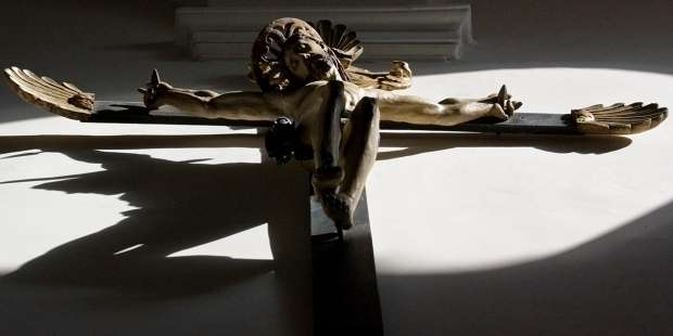 When the crucifix makes you want to look away, remember this old writer's rule