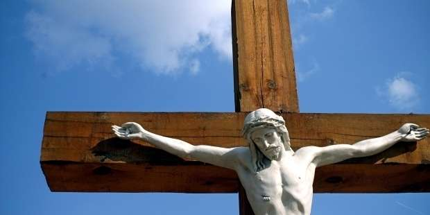 """""""Keep the crucifix before your eyes, and it will teach you everything…"""""""