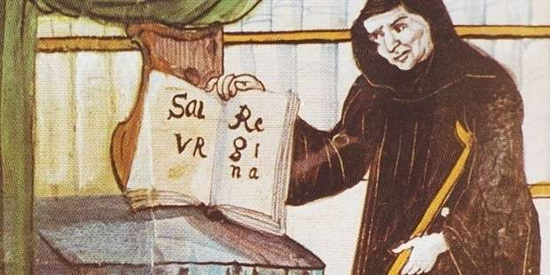 The inspiring story of how a blind, crippled monk composed the Salve Regina