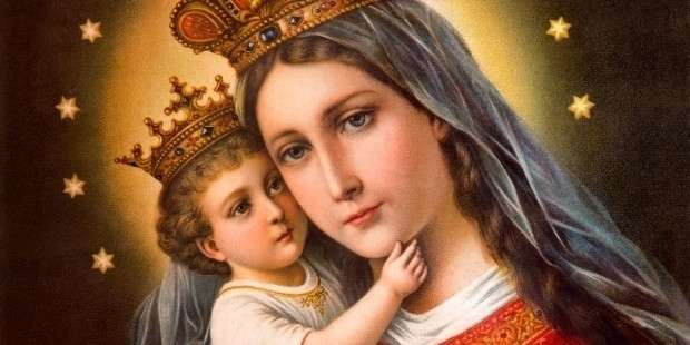 Prayer that I may never stray from Our Lady's care