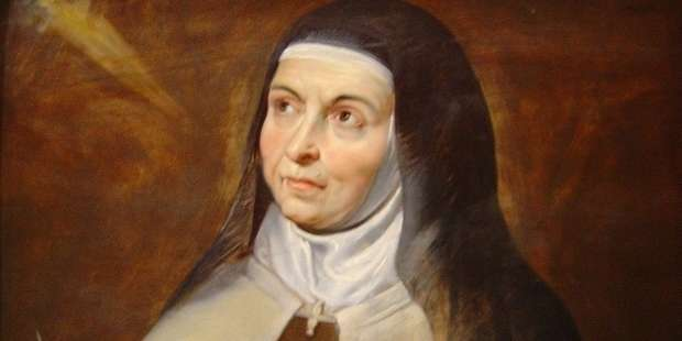 Prayer of St. Teresa of Avila to endure suffering in peace