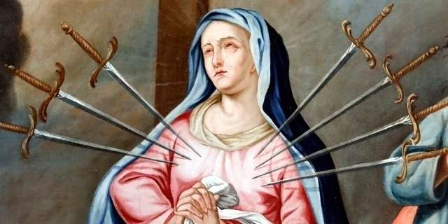 Prayer to Our Lady of Sorrows for the souls in purgatory