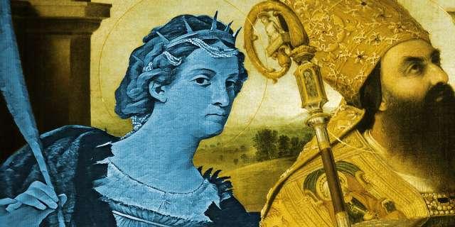 Saint Catherine of Alexandria (Patron Saint of Philosophers)