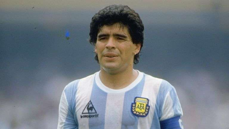 Bishop urges prayer after Diego Maradona's death