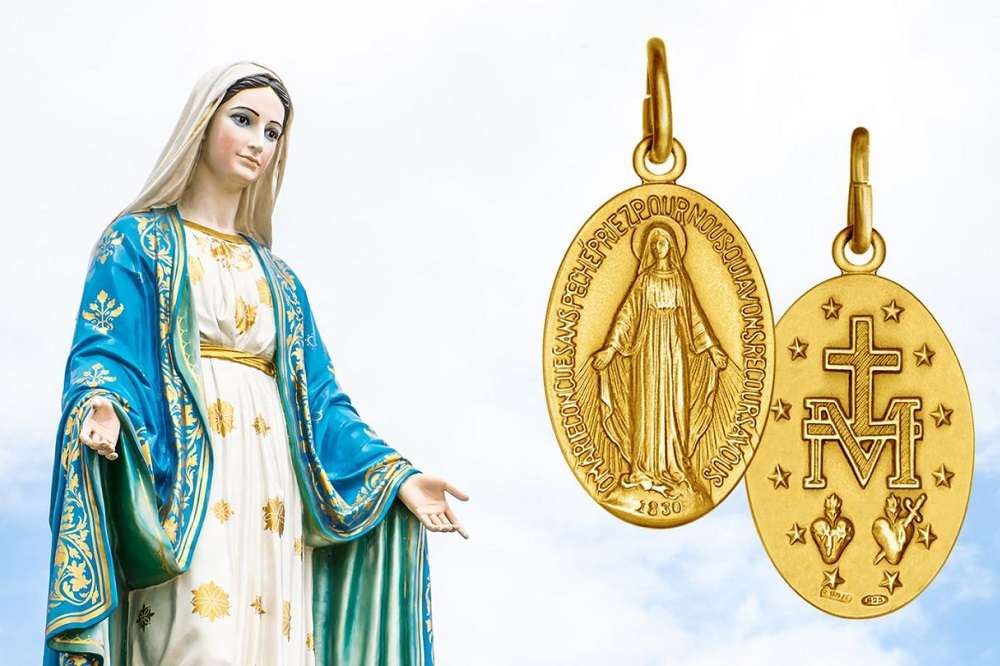 AND TODAY WE CELEBRATE… The Blessed Virgin Mary, Our Lady of the Miraculous Medal