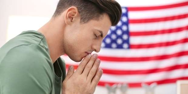 Prayer to entrust the United States to God's protection