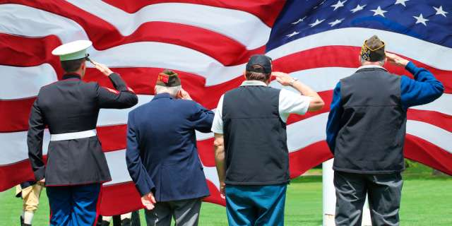 Prayer that veterans will find physical and spiritual healing