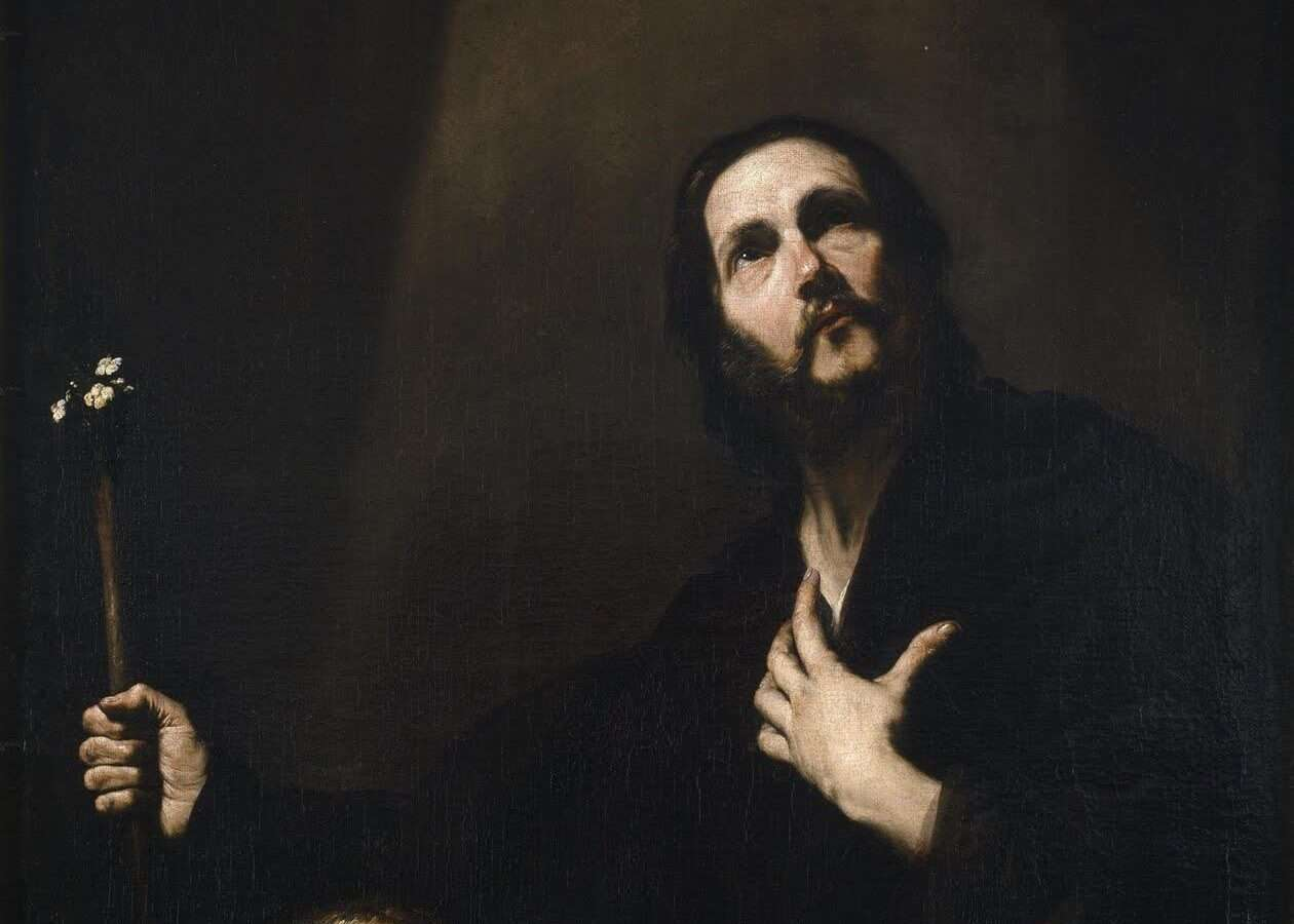 Why is St. Joseph depicted as an old man in christian art?