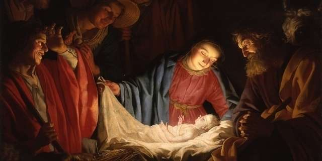 AND TODAY WE CELEBRATE…  The Solemnity of the Nativity of Our Lord Jesus Christ