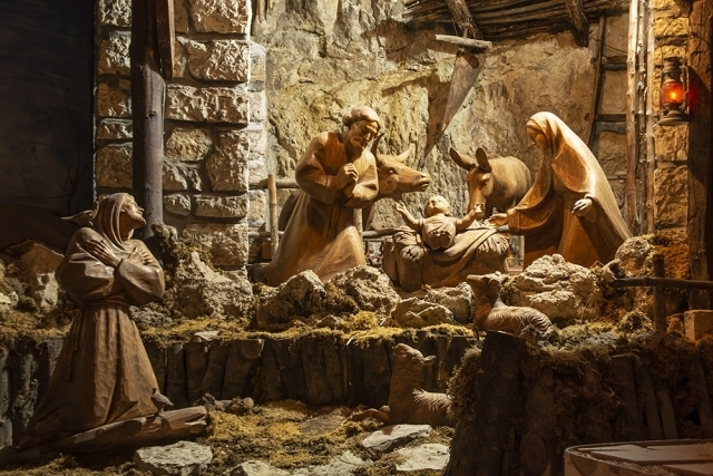 St. Francis' reenactment of Christmas was the first Nativity scene